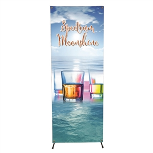 X Banner Display System, Large with graphic
