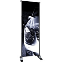 "Excel Fixed Width Banner Stand Classics 24""w x 36""-96""h"