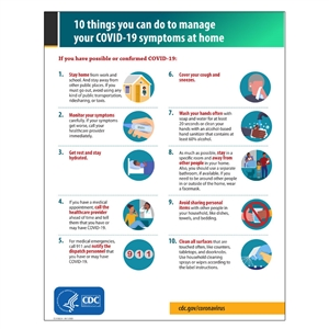 10 Ways To Manage Respiratory Symptoms At Home Sign