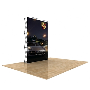 5ft Star Fabric Pop Up Trade Show Display