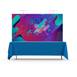 8ft Star Fabric Table Top Fabric Pop-Up Display