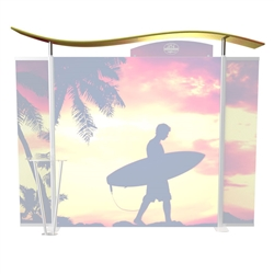 Custom Dye-Sublimation Wave Top Cover