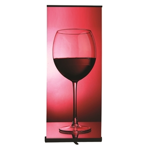 Retractable Banner Stand with Fabric Graphic
