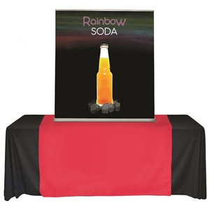 rbsc48 table top Banner Stand and 60inch Graphic