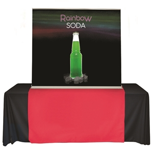 rbsc60 table top banner stand 60 x 60 graphic