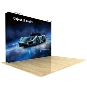 10ft Deluxe Straight Tension Fabric Display