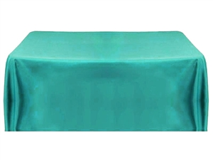 6' Economy Table Throw (4 Sided) - Turquoise