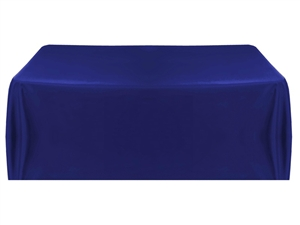 8ft (4 sided) table throw cover in navy